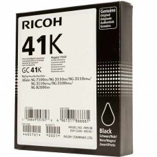 Μελάνι Gel Ricoh GELGC41K Black